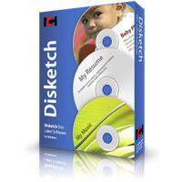Disketch (โปรแกรม Disketch ออกแบบปก CD DVD)
