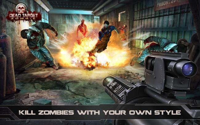 DEAD TARGET Zombie (App เกมส์ FPS ยิงซอมบี้) :