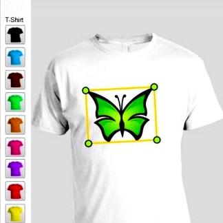 Tshirt Maker (โปรแกรม Tshirt Maker ออกแบบเสื้อผ้า) :
