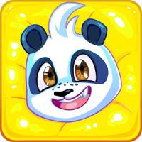 Paddle Panda (App เกมส์แพนด้าล่องแก่งเก็บพิซซ่า)