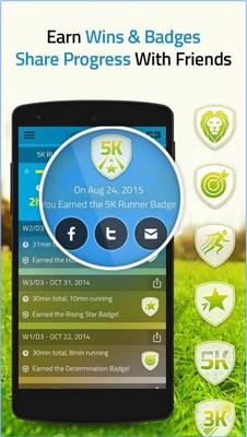 App สอนวิ่งออกกำลังกาย 5K Run
