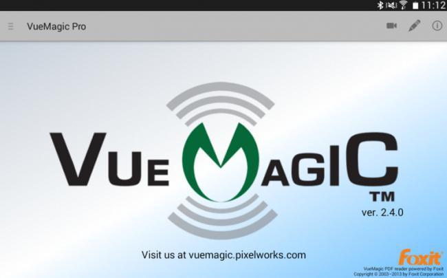 App เชื่อมต่อโปรเจคเตอร์ VueMagic Pro