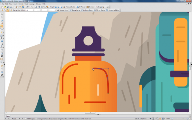 โปรแกรมวาดรูป แต่งรูป DrawPlus Starter Edition