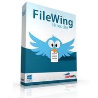 FileWing Shredder (โปรแกรม FileWing ลบไฟล์ถาวร กู้กลับไม่ได้อีกเลย) :