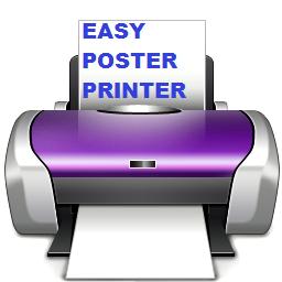 Easy Poster Printer (โปรแกรม Easy Poster Printer แต่งรูป ปริ้นภาพโปสเตอร์) :