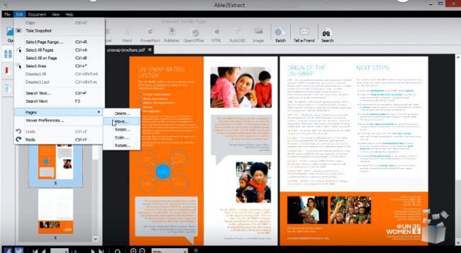 โปรแกรมแก้ไข แปลงไฟล์เอกสาร Able2Extract PDF Converter
