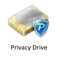 Privacy Drive (ป้องกันข้อมูล ซ่อนไฟล์ ล็อคไฟล์)