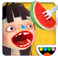 Toca Kitchen 2 (App เกมส์ทำอาหารตามใจฉัน)