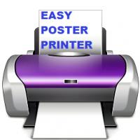 Easy Poster Printer (โปรแกรม Easy Poster Printer แต่งรูป ปริ้นภาพโปสเตอร์)