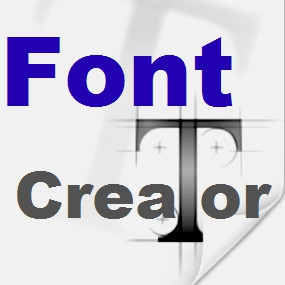 FontCreator (โปรแกรม Font Creator สร้าง และ ออกแบบฟอนต์ ด้วยตัวเอง) :