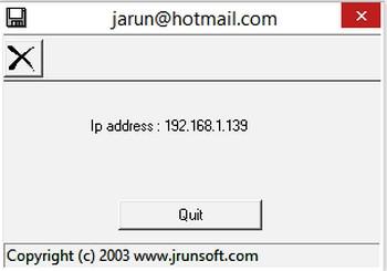 โปรแกรมเช็คเลขไอพี IP Address Check