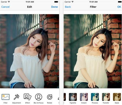 App แต่งรูป Camera Editor Beauty