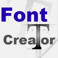 FontCreator (โปรแกรม Font Creator สร้าง และ ออกแบบฟอนต์ ด้วยตัวเอง)