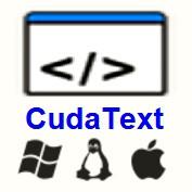 CudaText (โปรแกรม CudaText แก้ไขข้อความ เจ๋งกว่า Notepad) :