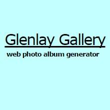 Glenlay Gallery (โปรแกรม ช่วยสร้างอัลบั้มรูป ออนไลน์ แบบสำเร็จรูป) :