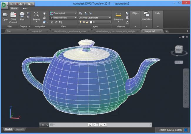โปรแกรมเปิดไฟล์ AutoCAD Autodesk DWG TrueView