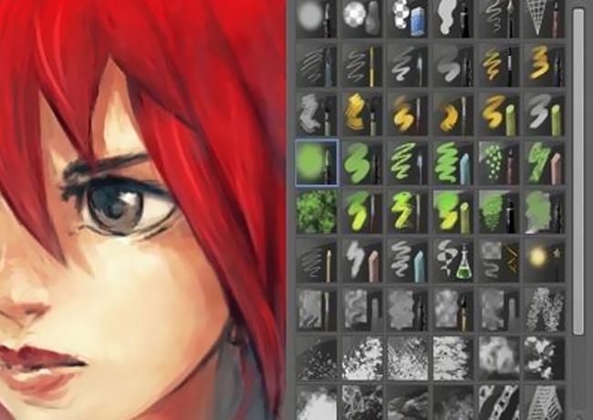 โปรแกรมวาดรูป Krita Studio