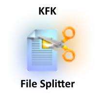 KFK (โปรแกรม KFK แยกไฟล์ขนาดใหญ่ รวบรวมไฟล์ขนาดเล็ก)