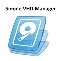 Simple VHD Manager (โปรแกรมสร้างไดร์ฟจำลอง Virtual Hard disk)