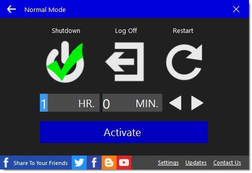 โปรแกรมปิดเครื่องอัตโนมัติ Automatic Shutdown
