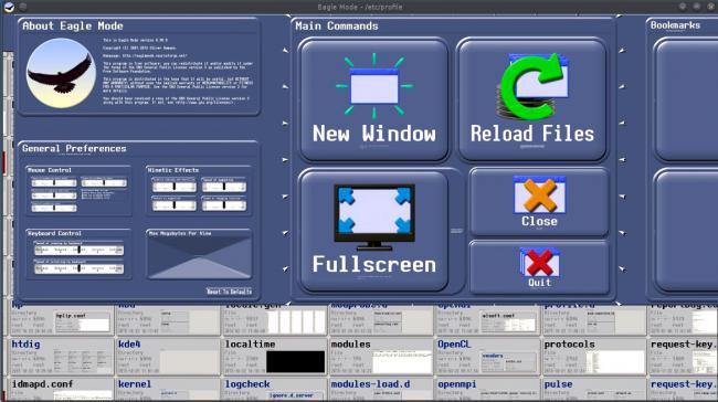 โปรแกรมเปิดไฟล์ จัดการไฟล์ Eagle Mode