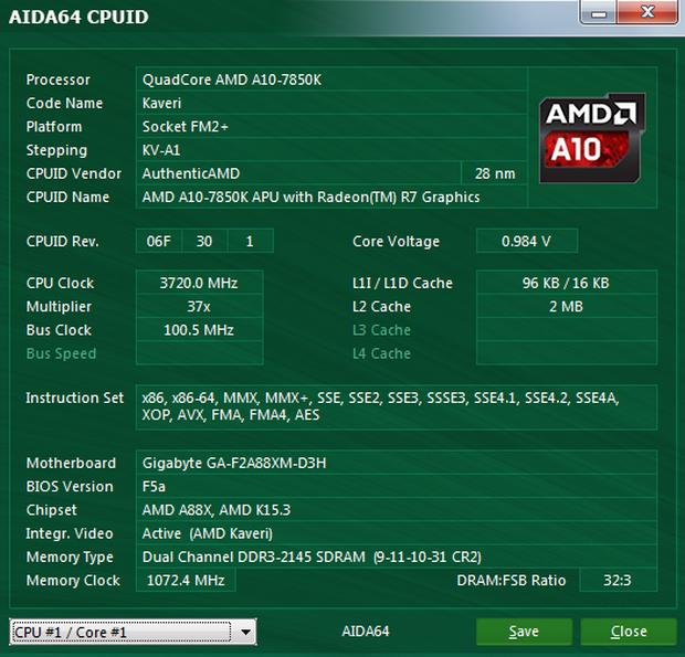 โปรแกรมทดสอบฮาร์ดแวร์ AIDA64 Extreme Edition