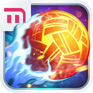 Roll Spike Sepak Takraw (App เกมส์กีฬา Sepak Takraw เซปักตะกร้อ) :
