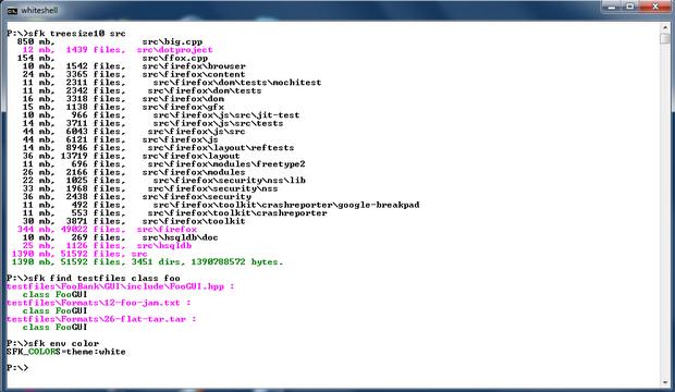 โปรแกรมจัดการไฟล์ Swiss File Knife