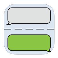 Stitch It Edit and Share Screenshots (App แคปภาพหน้าจอแชท บน iOS)