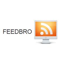 Feedbro (โปรแกรม Feedbro อ่านข่าวจาก RSS Twitter Blog ดูรูปจาก Instagram ฯลฯ)