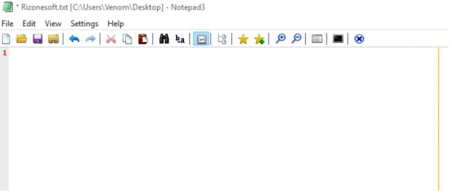 โปรแกรม Text Editor Notepad3