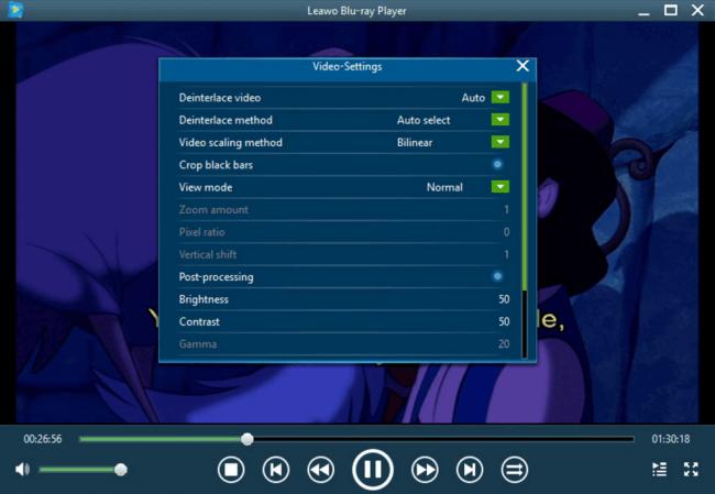โปรแกรมเล่นไฟล์วีดีโอ Leawo Blu-ray Player