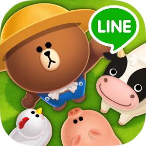 LINE BROWN FARM (App เกมส์หมีบราวทำฟาร์ม) :