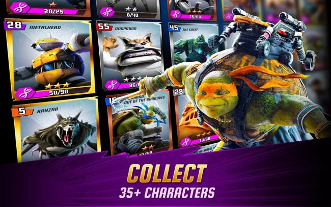ดาวน์โหลด Ninja Turtles Legends