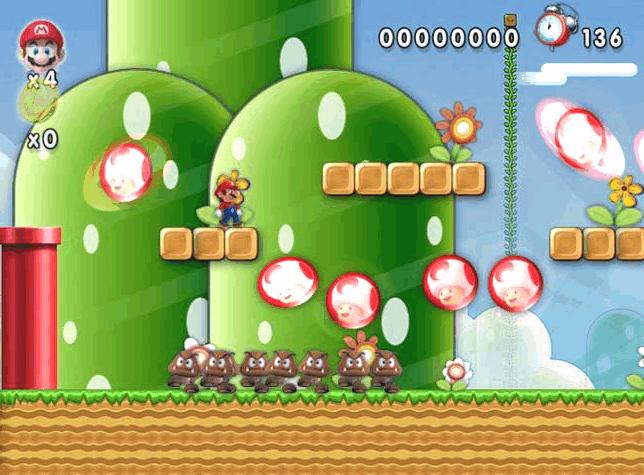 เกมส์มาริโอ้ New Super Mario Forever 2015