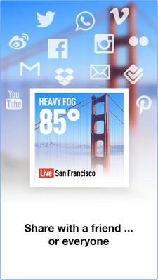 InstaWeather Pro (App ตกแต่งภาพ InstaWeather Pro รายงานอากาศ แสดงอุณหภูมิ) :
