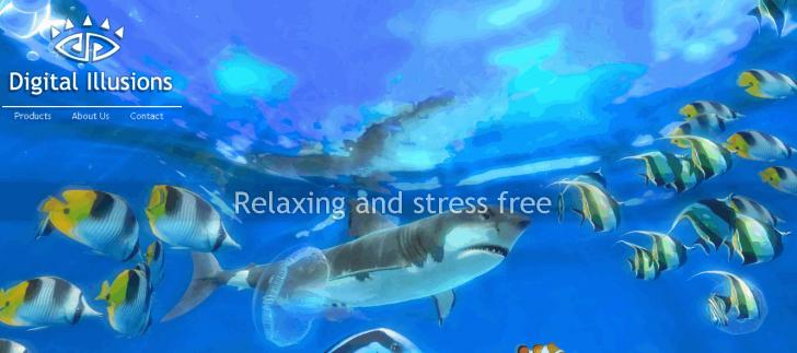 โปรแกรมสกรีนเซฟเวอร์ 3 มิติ ใต้น้ำ Sim Aquarium
