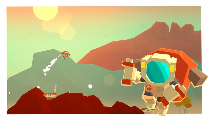App เกมส์ขับยาน สำรวจดาวอังคารMars Mars