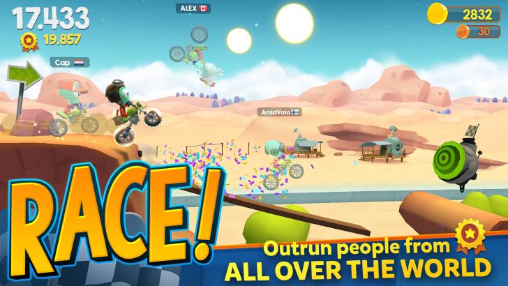 Big Bang Racing (App เกมส์แข่งรถวิบาก สไตล์พัซเซิล)