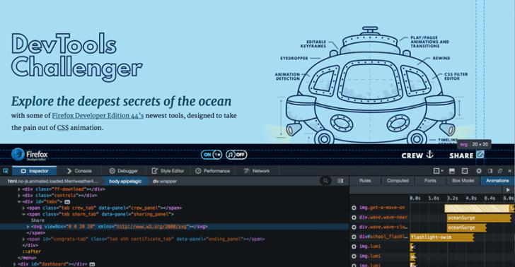 โปรแกรม Firefox Developer Edition