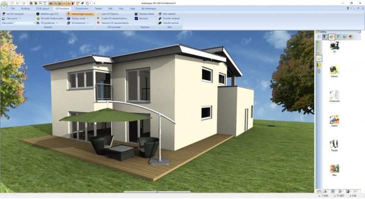 โปรแกรมออกแบบ Ashampoo 3D CAD Architecture