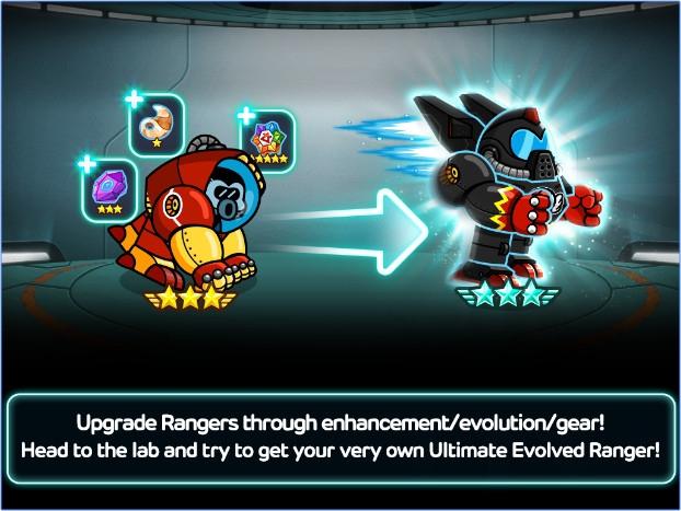 App เกมส์ต่อสู้ผจญภัย LINE Rangers