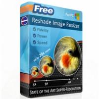 Reshade Image Enlarger (โปรแกรม Image Enlarger ขยายรูป เพิ่มความชัดรูป)