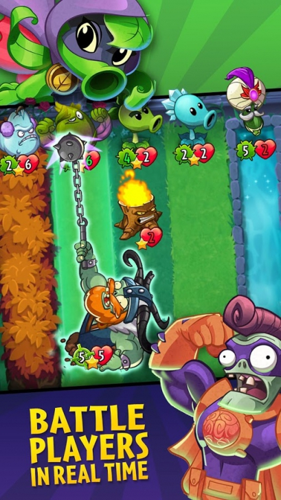 เกมส์ Plants vs Zombies Heroes
