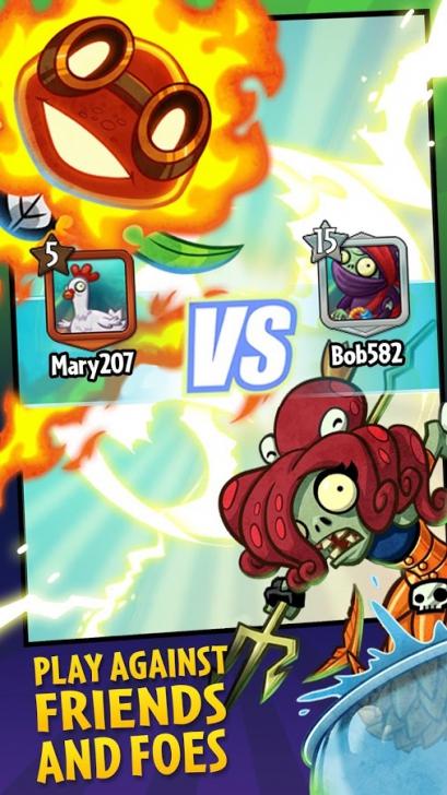 ดาวน์โหลด Plants vs Zombies Heroes