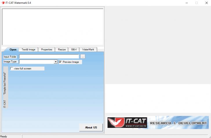 โปรแกรมแก้ไข และเพิ่มเติมรายละเอียดบนรูปภาพ IT-Cat Watermark