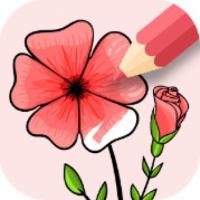 Flowers Coloring Game (App เกมส์ระบายสีดอกไม้ Flowers Coloringสวยๆ)