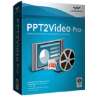 Wondershare PPT2Video Pro (โปรแกรมแปลงไฟล์ Powerpoint เป็นวีดีโอ Video)