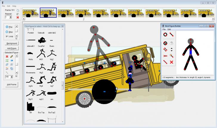 โปรแกรมทำการ์ตูนเคลื่อนไหว Pivot Animator