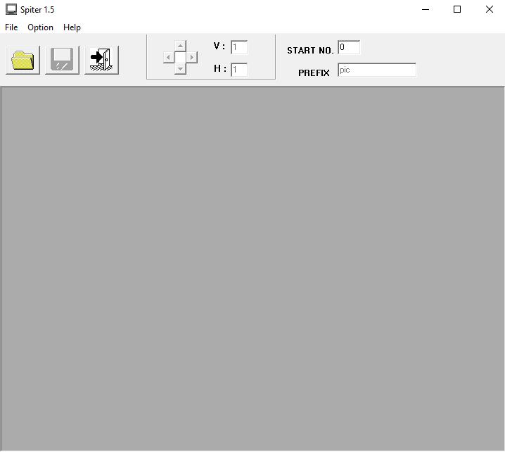 โปรแกรมตัดแบ่งภาพ Image Splitter